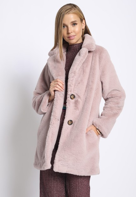 FAUX FUR COAT - orangeshine.com