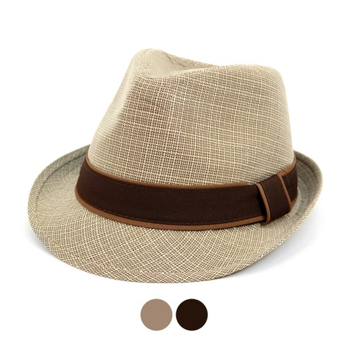 Fall-Winter Trilby Fedora Hat - orangeshine.com