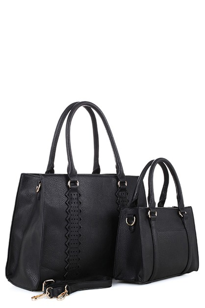 DESIGNER 2 IN 1 HANDBAG SET - orangeshine.com