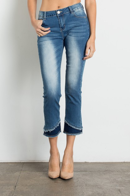 Women Mid Rise Washed Jeans - orangeshine.com