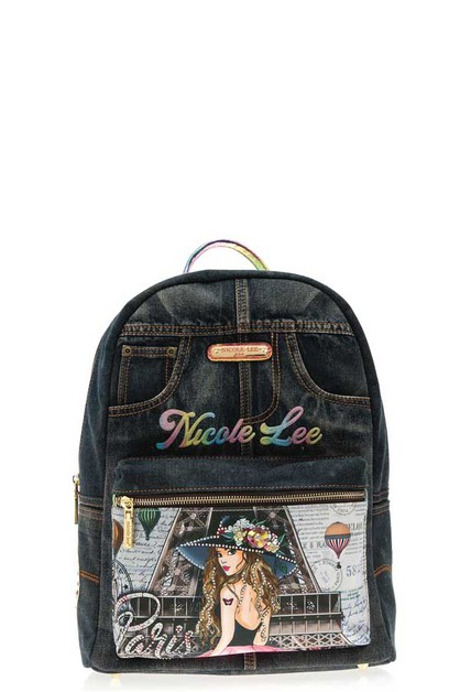 DENIM PARIS BACKPACK - orangeshine.com