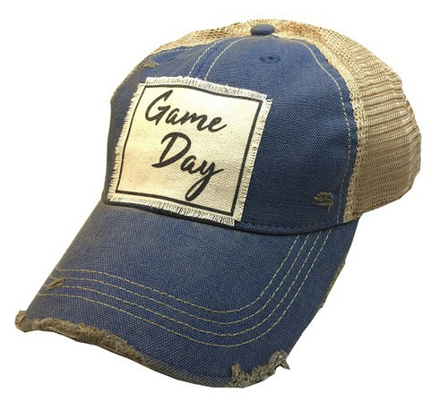 Game Day Trucker Hat - orangeshine.com