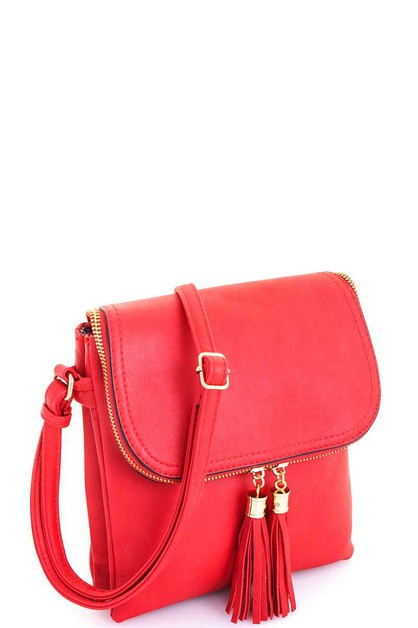 Multi Pocket Crossbody Bag - orangeshine.com