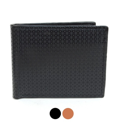 Bi-Fold Leather Men Wallet - orangeshine.com