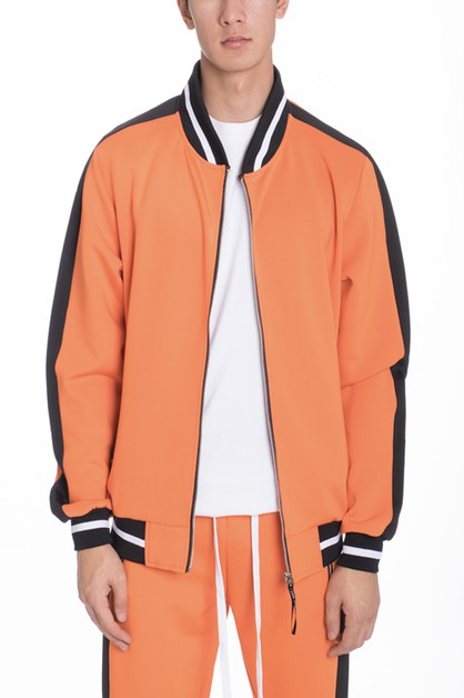 HEAVY WEIGHT TRACK JACKET - orangeshine.com