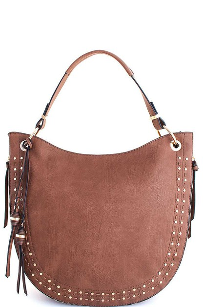 HOT TRENDY EXPANDABLE HOBO BAG - orangeshine.com
