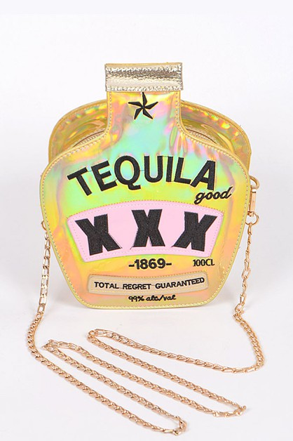Tequila Iconic Box Swing Bag - orangeshine.com