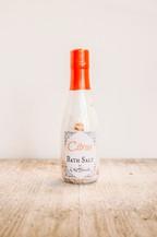 Citrus Essential Oil Bath Salt - orangeshine.com