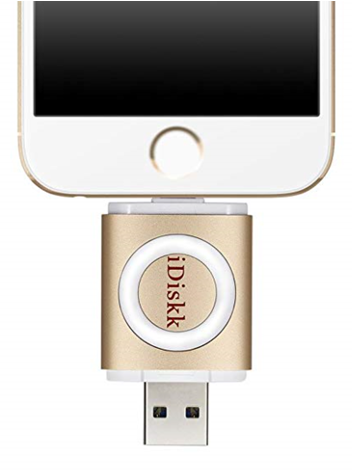 iDiskk 128GB USB Flash Drive  - orangeshine.com
