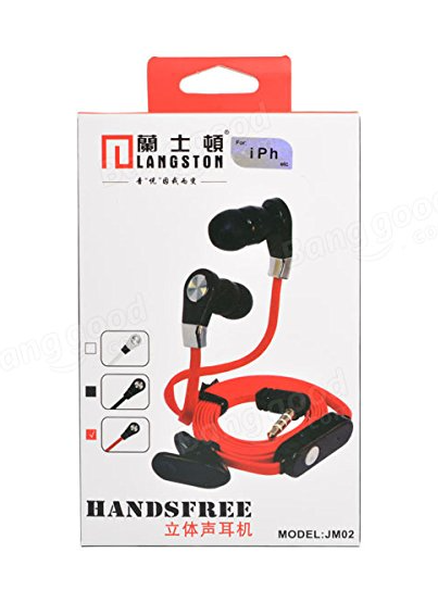 Langstom High Quality earphone - orangeshine.com