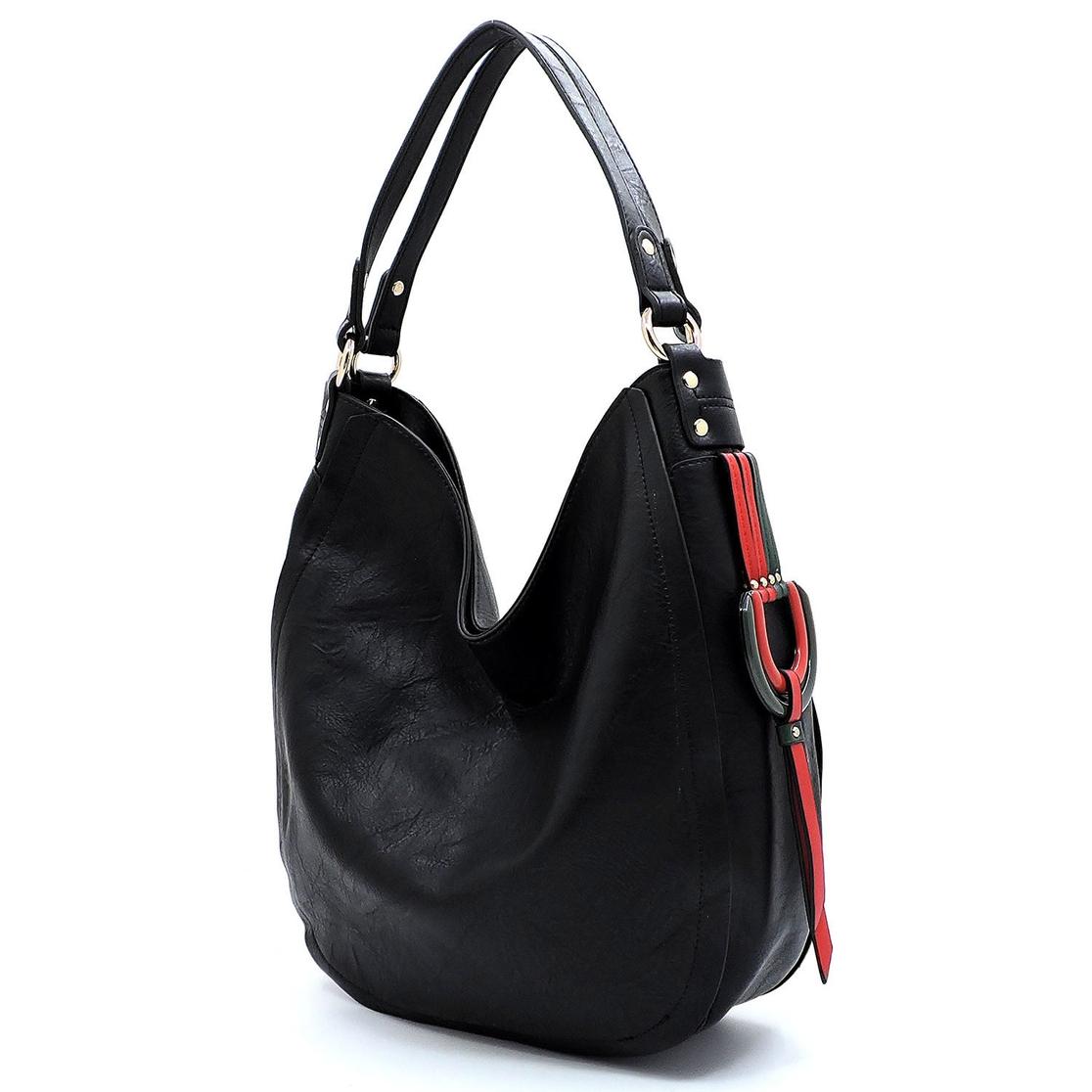 d89e358d12 FASHION BRIDGE Wholesale Multi Striped D-Ring Shoulder Bag ...