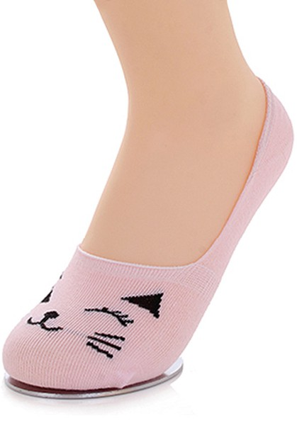 Cat Print Socks - orangeshine.com
