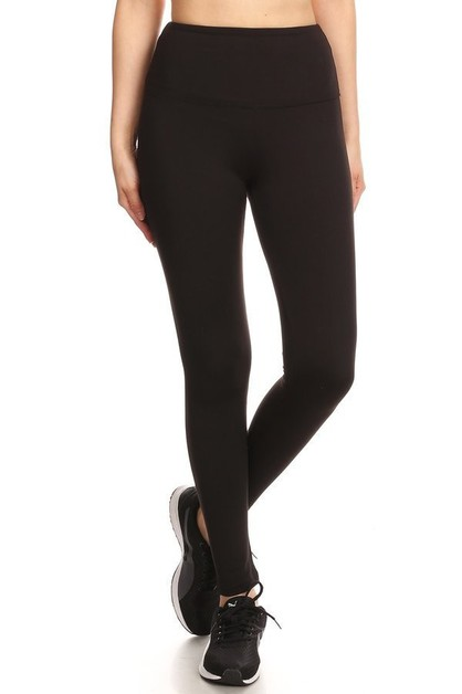 Slimming Comfort Fleece Leggings - orangeshine.com