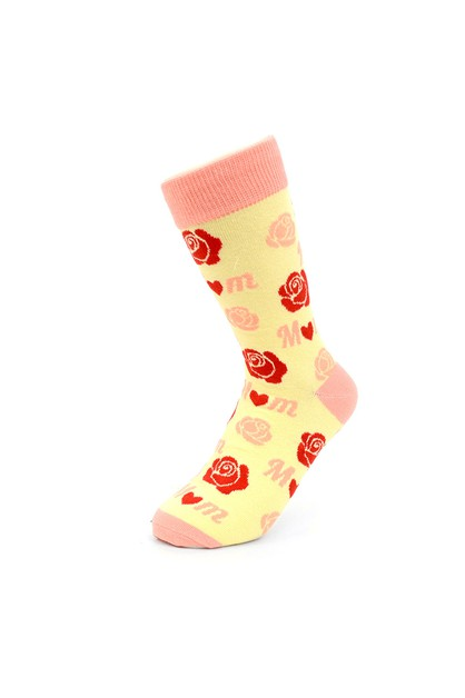 Women Mom Novelty Socks  - orangeshine.com