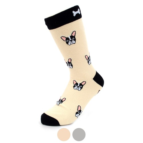 Womens French Bulldog Novelty Socks - orangeshine.com