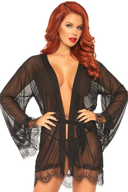 Sheer Robe Set - orangeshine.com