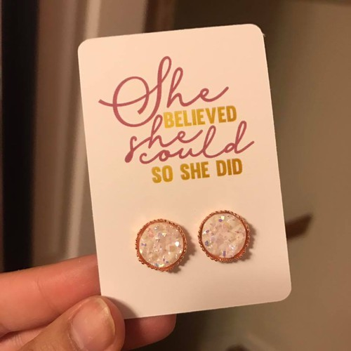 She Believed She Could Studs - orangeshine.com
