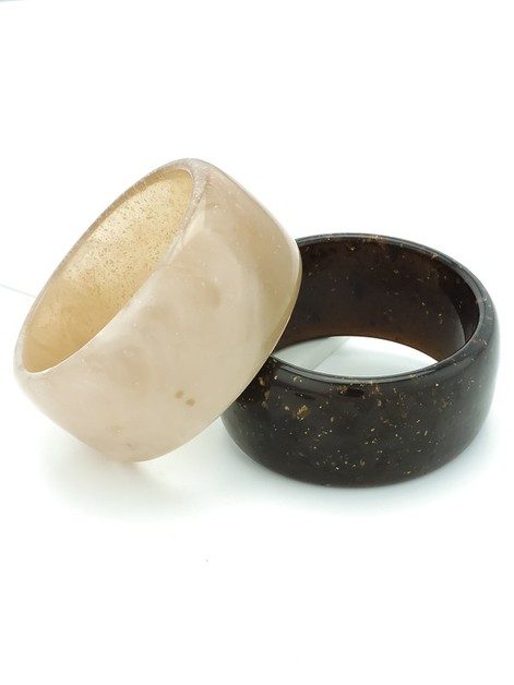 Natural Essence Bangle Bracelets - orangeshine.com
