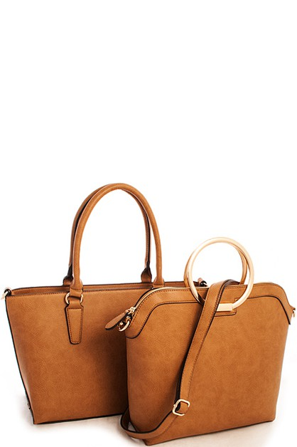 2in1 Designer Systemic Satchel  - orangeshine.com