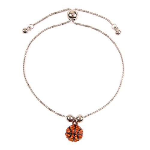 BASEBALL SPORTS SLIDE BRACELET - orangeshine.com