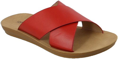 CROSSED BAND UPPER COMFORT SANDAL - orangeshine.com