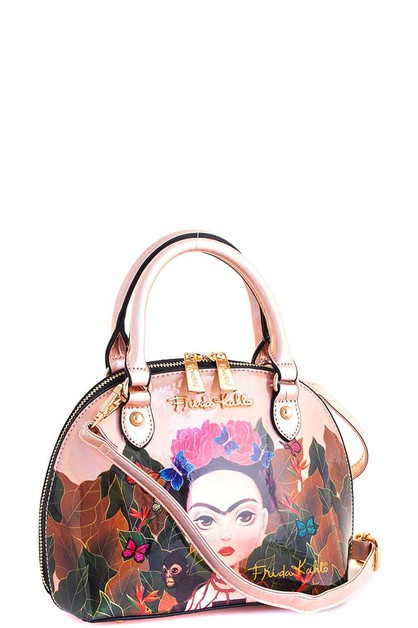 FRIDA GLOSSY DOME SATCHEL - orangeshine.com