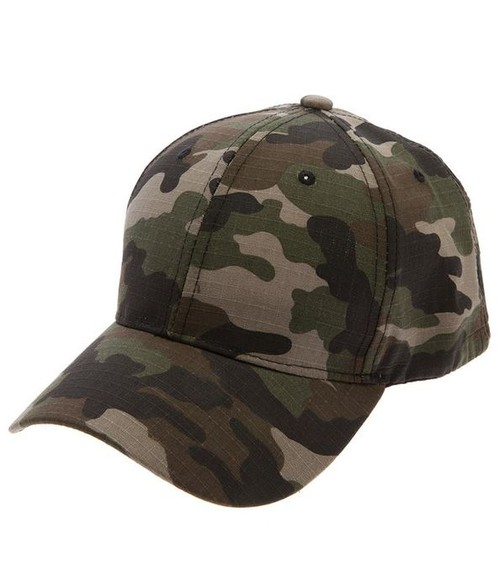 ARMY PRINT COTTON BASEBALL CAP - orangeshine.com