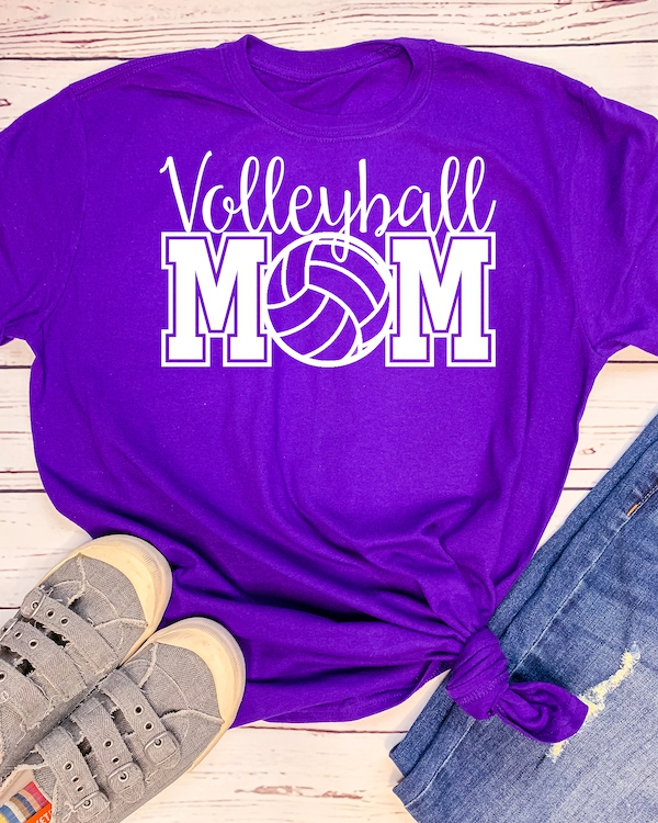 Volleyball Mom - orangeshine.com