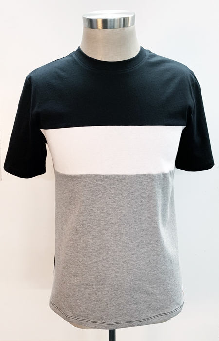 Color Block T-shirt - orangeshine.com