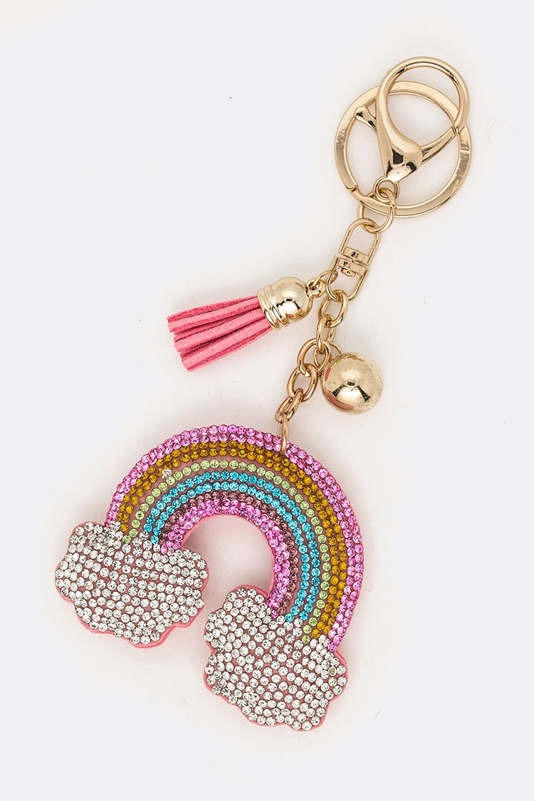 Crystal Rainbow Iconic Key Chain - orangeshine.com