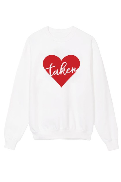 Taken Printed Sweater - orangeshine.com