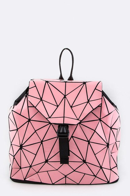 Geometric Iconic Backpack - orangeshine.com