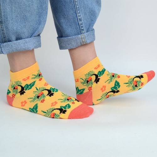 Assorted Women Toucan Fun Socks - orangeshine.com