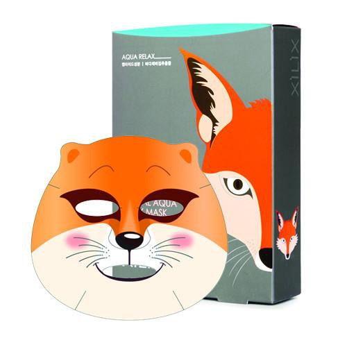 Dermal Animal Mask Fox setB X 10pcs - orangeshine.com