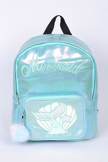Metallic Mermaid Backpack - orangeshine.com
