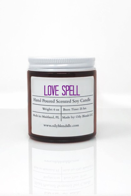 Soy Wax Valentines Candles - orangeshine.com
