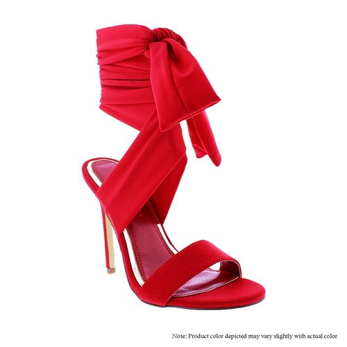 Ankle Straps Stiletto Sandals - orangeshine.com