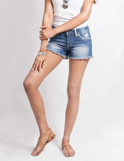 Womens Denim Shorts - orangeshine.com
