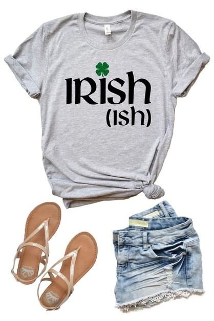 Irish-Ish - St Patricks Day Tee - orangeshine.com