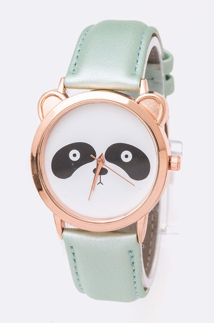 Crystal Panda Fashion Watch - orangeshine.com