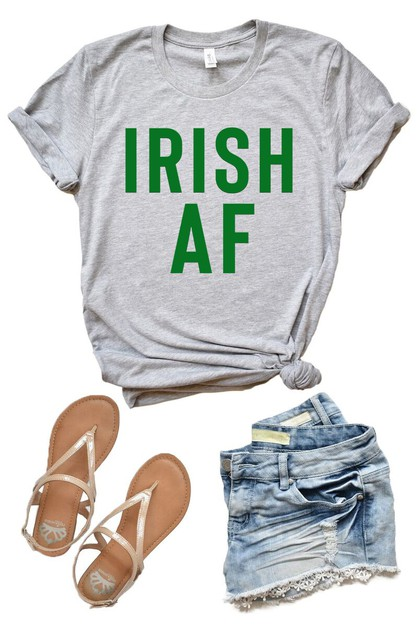 Irish AF Shirt - St Patricks Day Tee - orangeshine.com