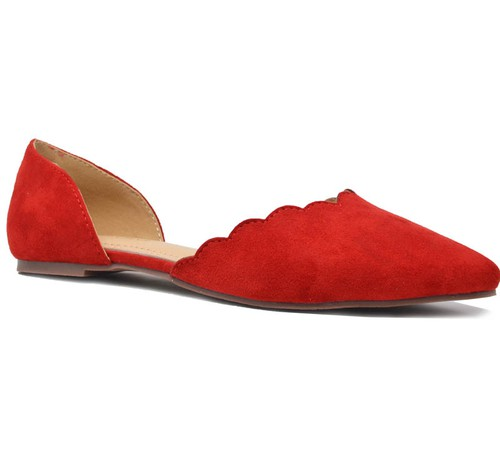 POINTY TOE FLATS - orangeshine.com