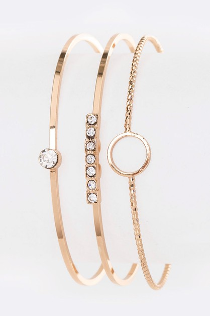 Wired Adjustable Iconic Bangle - orangeshine.com