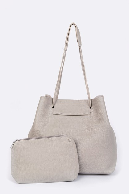 Classic Large Pouch and Tote Set - orangeshine.com