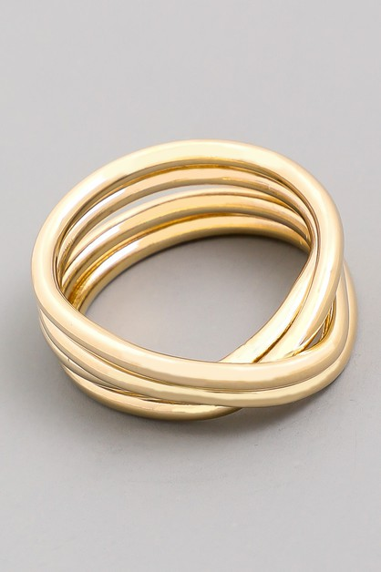 Triple Band Ring - orangeshine.com