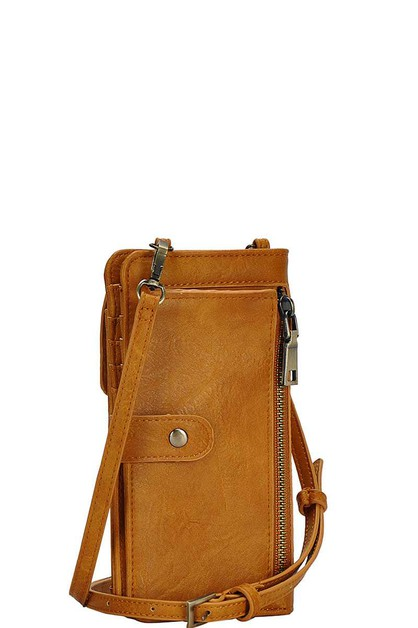 Fashion Chic Long Wallet Crossbody - orangeshine.com