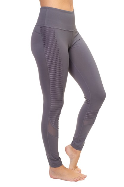 Active Long Mesh Leggings - orangeshine.com