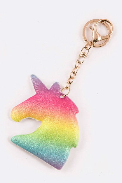 Rainbow Glittered Unicorn Puff - orangeshine.com