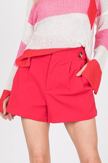 BUTTON SHORTS  - orangeshine.com
