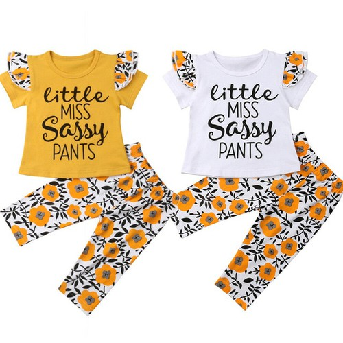 Girls 2pc outfit set - orangeshine.com